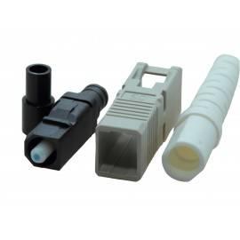 3M™ Hot Melt 6100-W MM SC fiberkonnektor