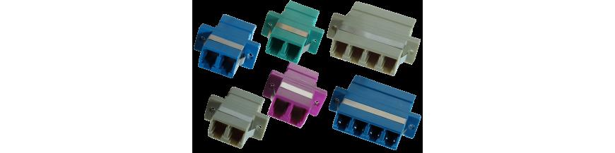 LC fiber adapter