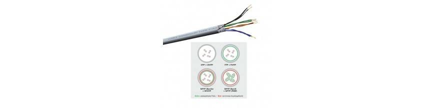 Rå-kabel på rulle